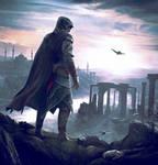 Ezio travels to masyaf