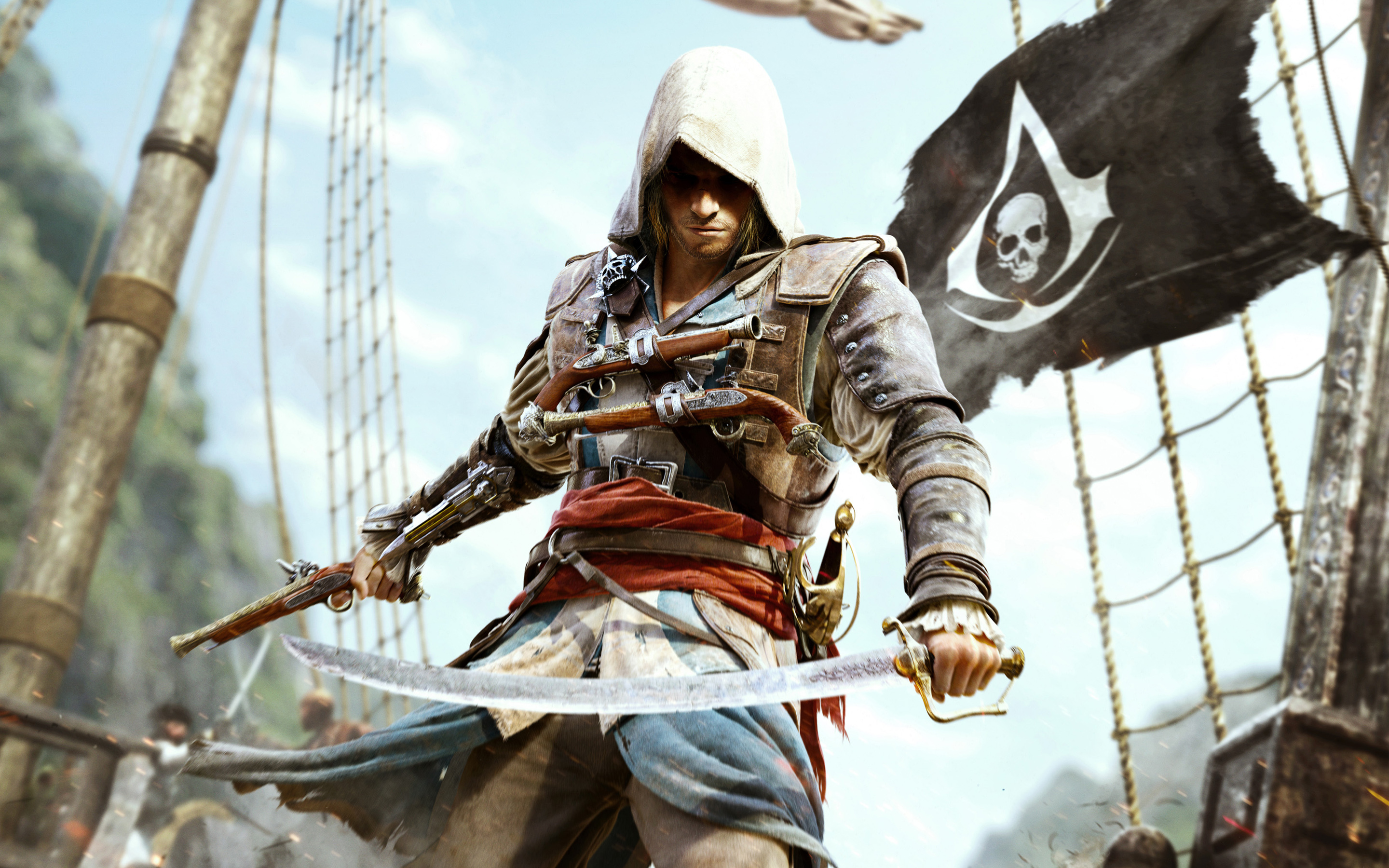Assassin S Creed Iv Black Flag Hd Wallpaper By Orochimaruxdd On