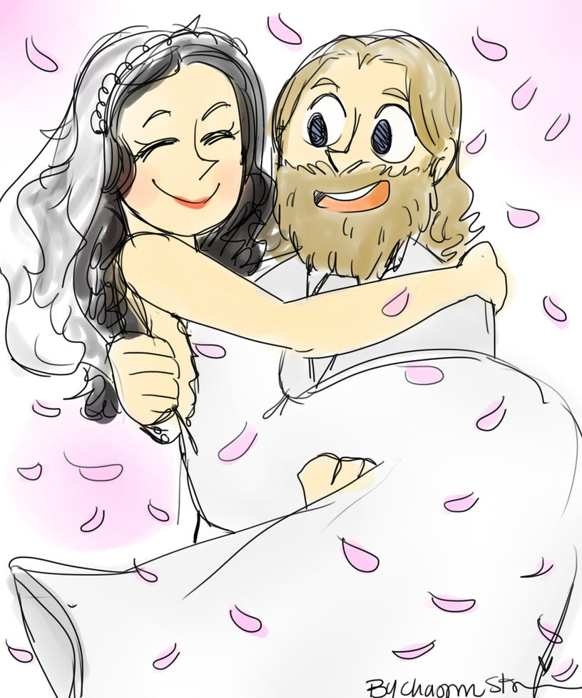 Braniel Wedding by Shinkumancer