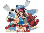 Pokemon Trainer Blue Team 190528d09