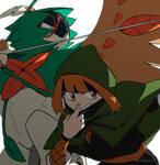Pokemon Legends Arceus - Ninja Gardenia