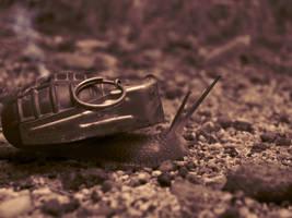 Snail Grenade by benasayer