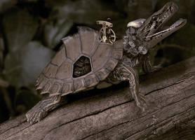 Biomech turtlesnake by benasayer
