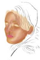 Half a woman by benasayer