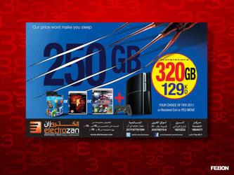 Playstation ads by fer30n