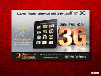 Ipad 3g ad by fer30n