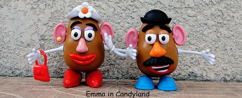 Mr Potato Head Race Car