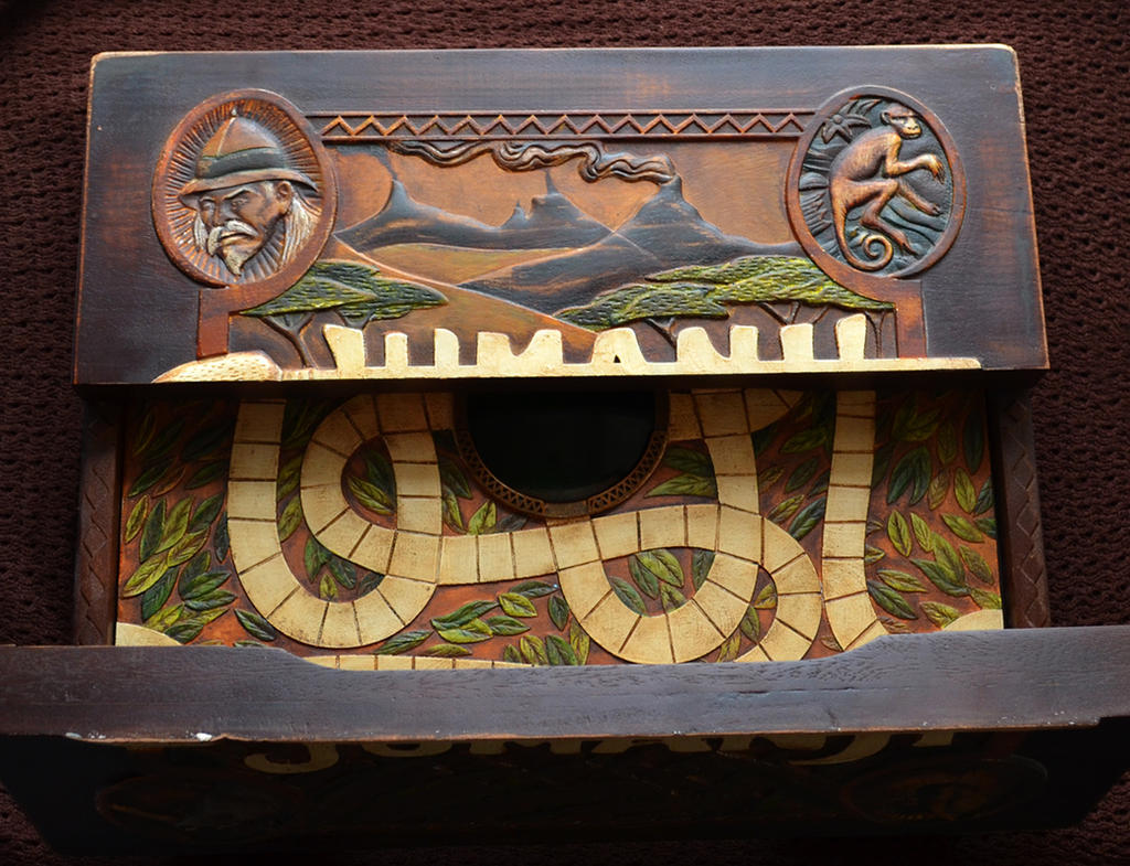 Jumanji Game Board by Emma-in-candyland
