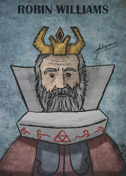 Robin Williams, the King of Hyrule