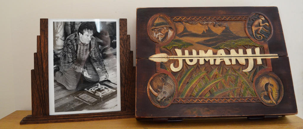 My Jumanji Game Board + Genuine RW autograph by Emma-in-candyland