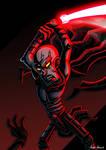 Cartoon Darth Bane by RemiReckless