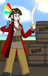 Pirate Sam by jellybeansniper