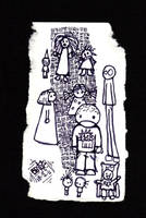 doodle on card by billiambabble
