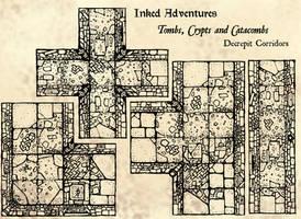 Decrepit Crypt Corridors -wip- by billiambabble
