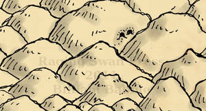 Mountain Detail from Treasure Map