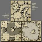 Inked Adventures Geomorphic Dungeon Tiles