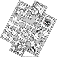 Hand Drawn Geomorph Tiles -mock-up map by billiambabble