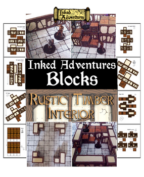 Cover for Inked Adventures Blocks product