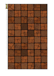 Wooden Floor Cut-Up Sheet for Tabletop Gaming by billiambabble