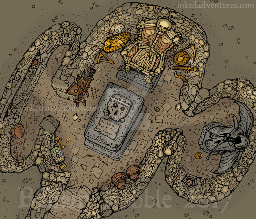 Crypt illustration by billiambabble