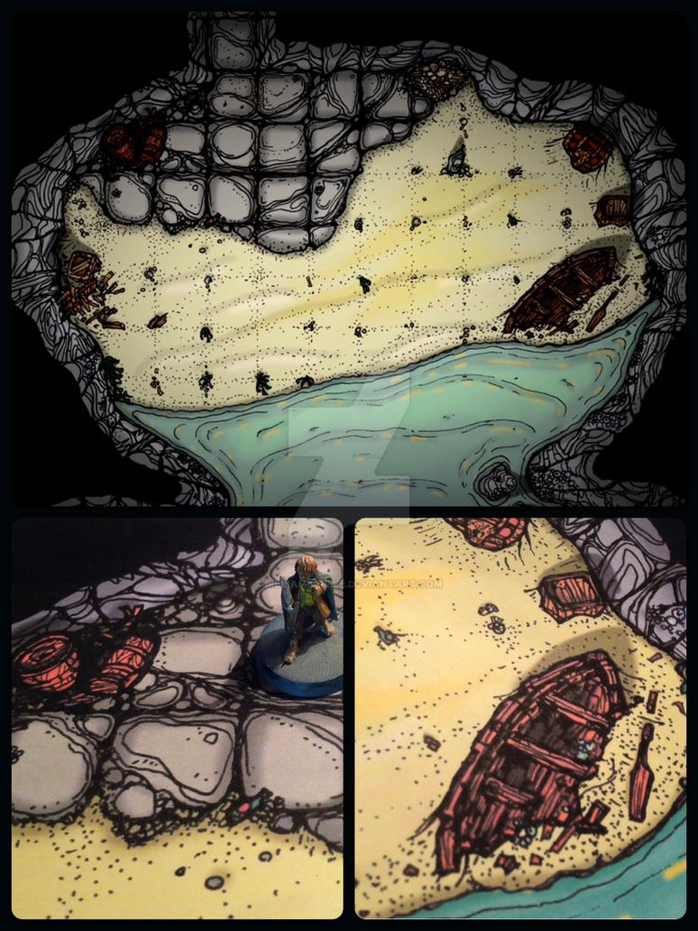 Smuggler Cavern by billiambabble