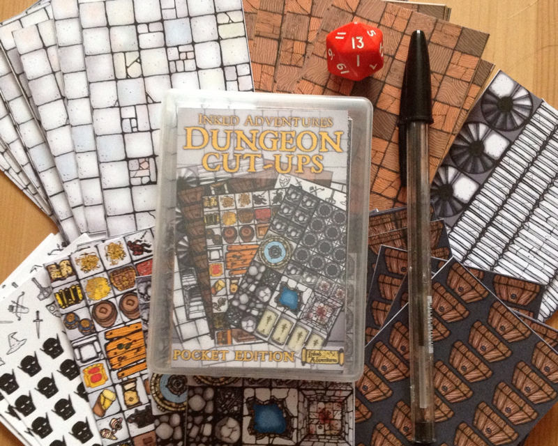 Pocket Sized Dungeon Cut Ups by billiambabble