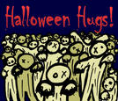 Halloween Hug Zombies by billiambabble