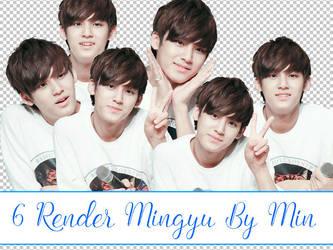 #6 Render Mingyu (SEVENTEEN) BY MIN (me) by ArmyRein