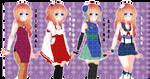 Ikehara High:: Hostess Clothes by Jynx-dono