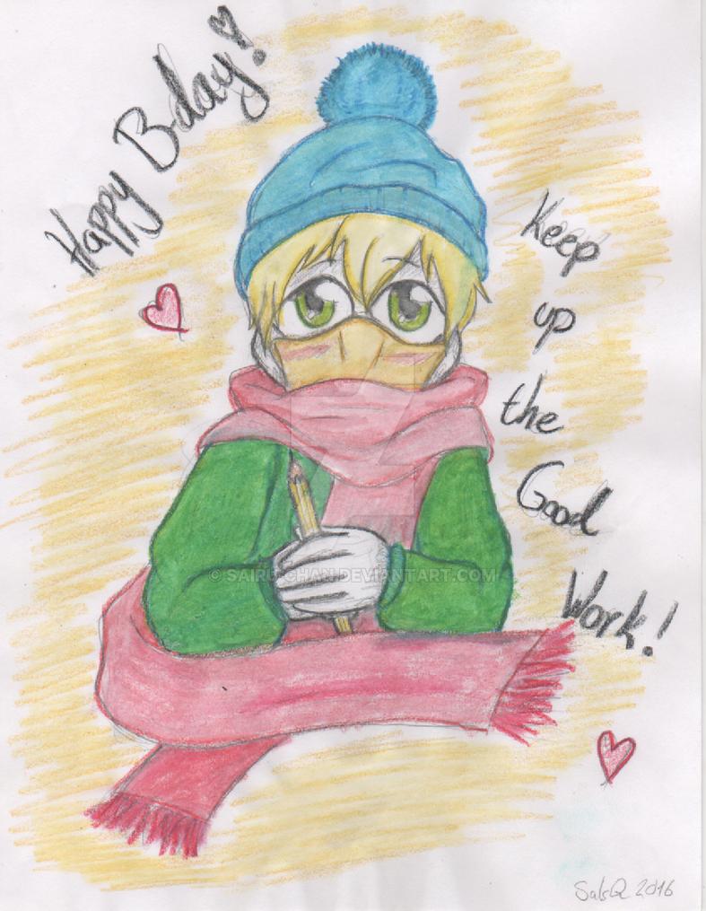 Happy (late) Birthday! by Sairu-chan
