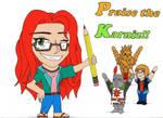Praise the Karniz!! ^^ by GarrodWindfang