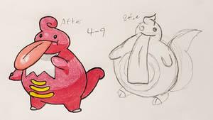 Pokemon-A-Day #463: Lickilicky by GarrodWindfang