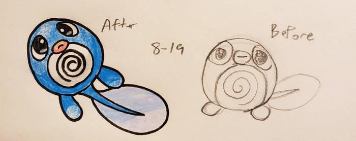 Pokemon-A-Day #060: Poliwag