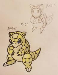 Pokemon-A-Day #027: Sandshrew