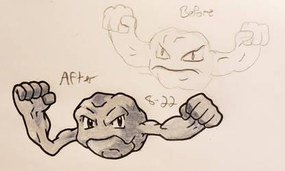 Pokemon-A-Day #074: Geodude