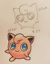 Pokemon-A-Day #039: Jigglypuff