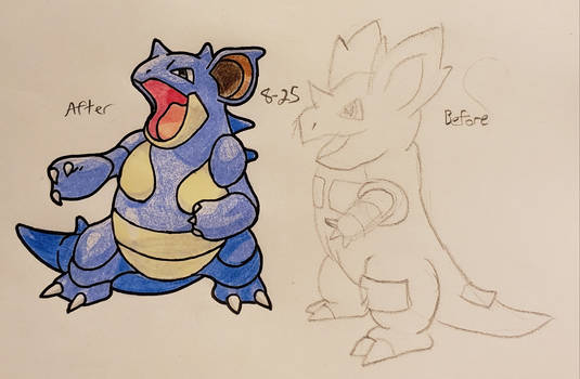 Pokemon-A-Day #031: Nidoqueen