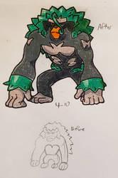 Pokemon-A-Day #812: Rillaboom
