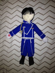 Roy Mustang Plushie by Lady-Night-Fury