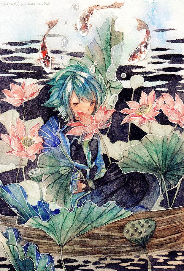 Lotus by mirrorimlubby