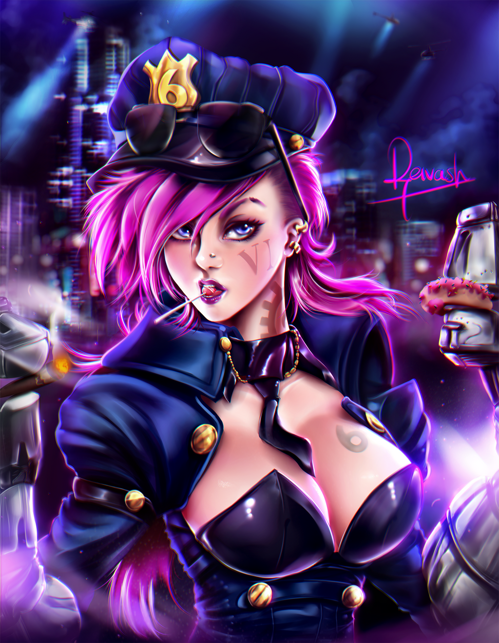 Vi - League of Legends by Reivash on DeviantArt