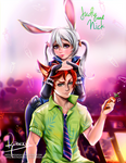 Judy and Nick - Zootopia