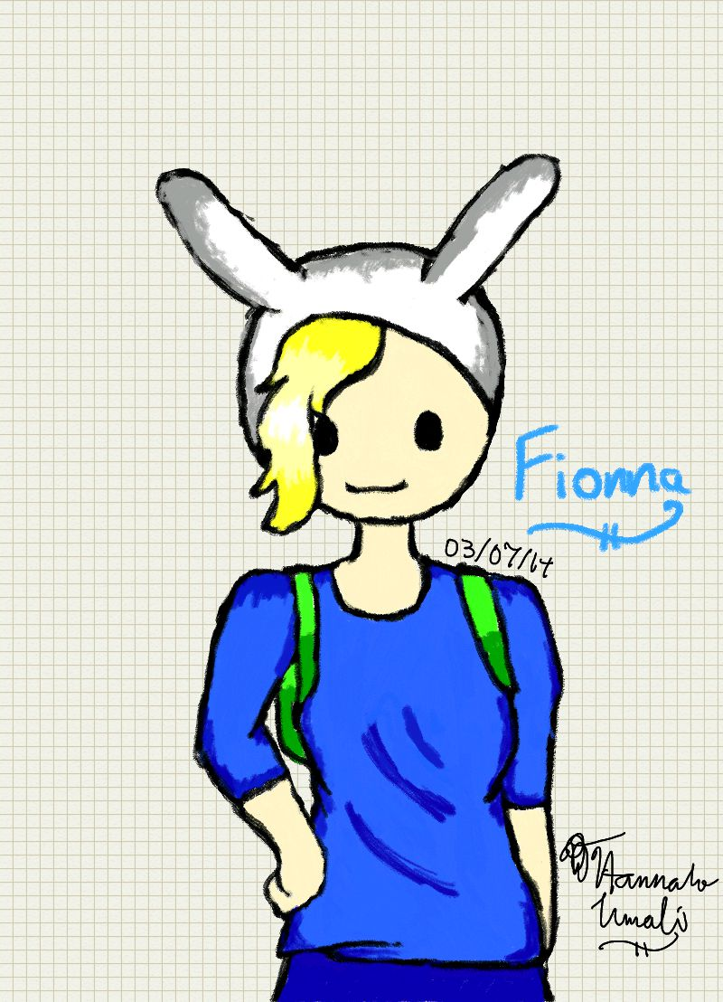 Fionna the human by Melomiku