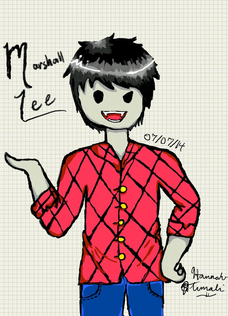 Marshall Lee by Melomiku