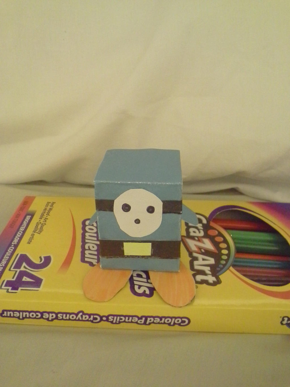 Papercraft Shyguy (not printed) by Melomiku