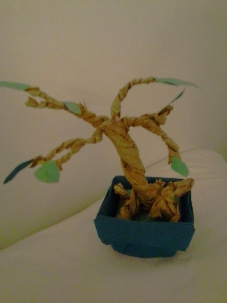 Paper Bonsai by Melomiku