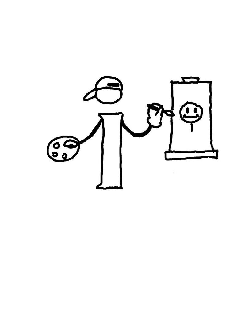 Cartoon i by Melomiku