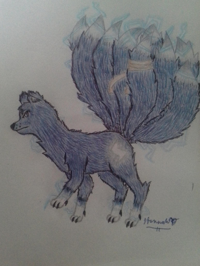 Nine-Tailed Fox Bukku by Melomiku
