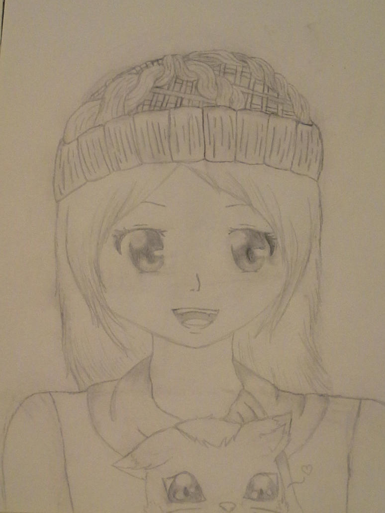 Summer vacation drawing by Melomiku