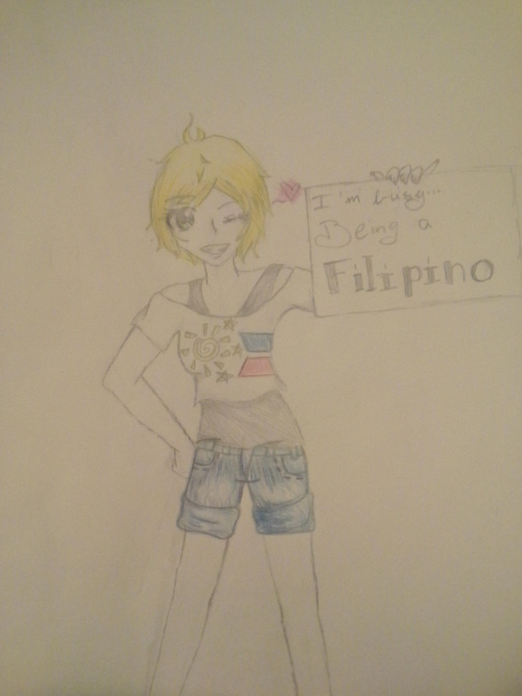 Gift: Proud to be a Pinoy artist by Melomiku